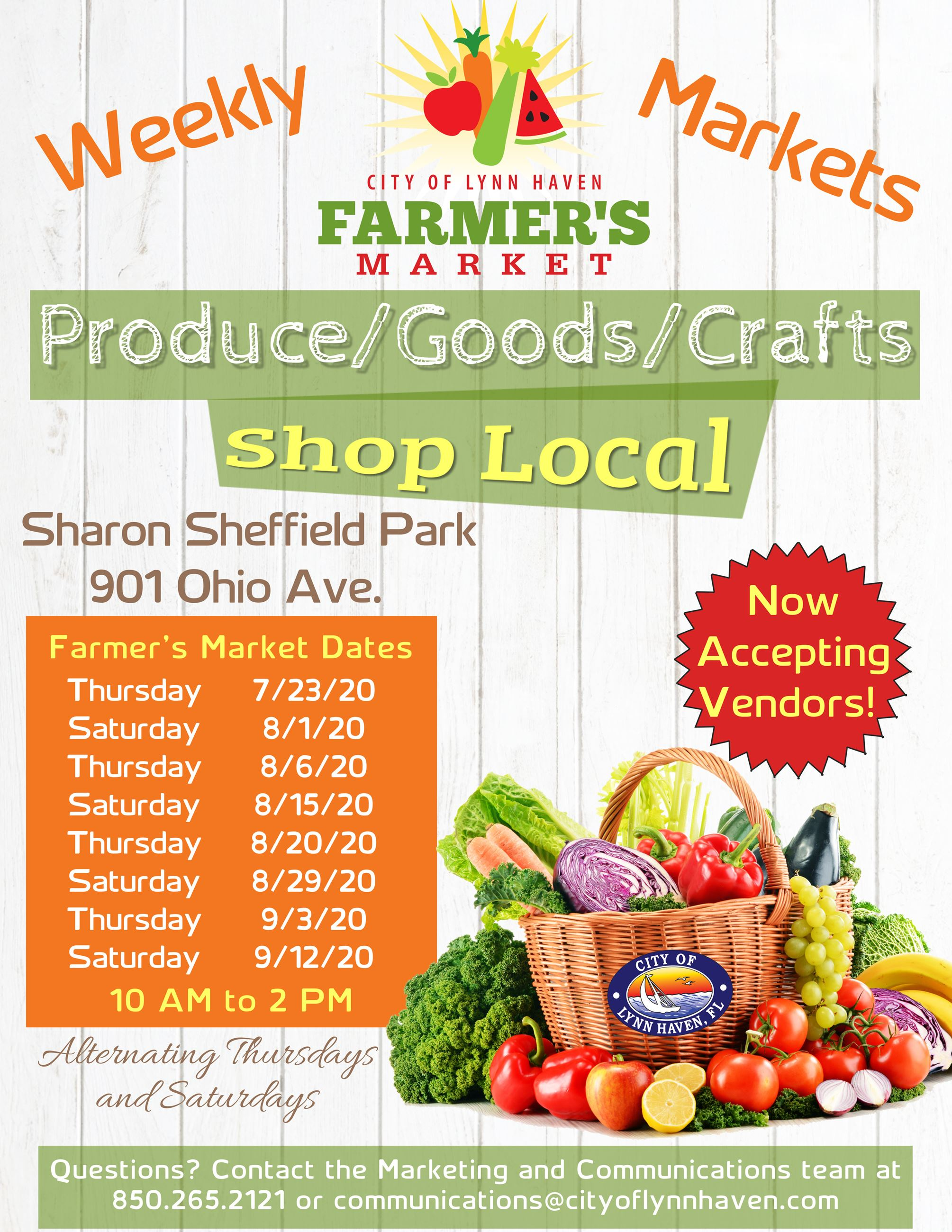 2020 Farmers Market Flyer (JPEG)