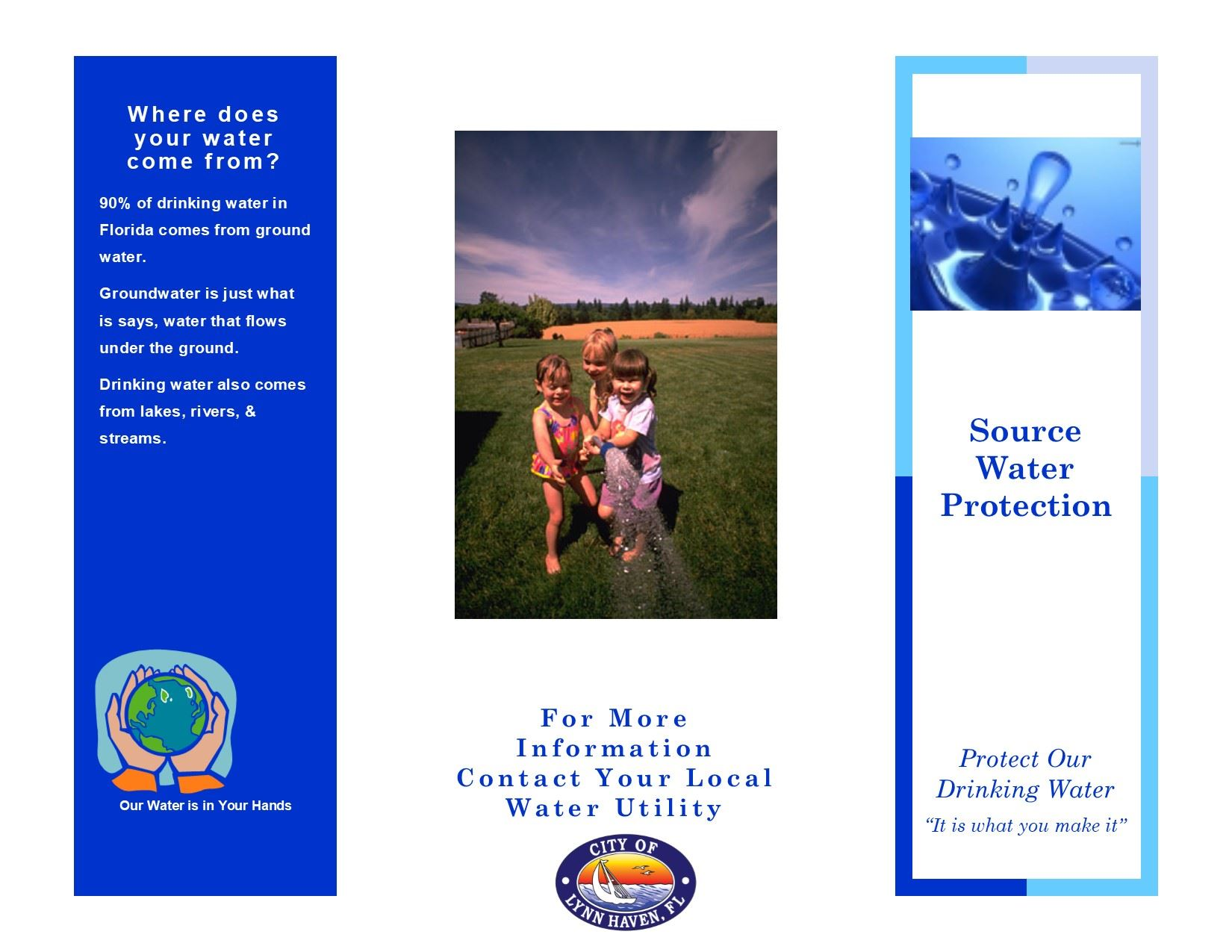 Source Water Protection Brochure Side 1