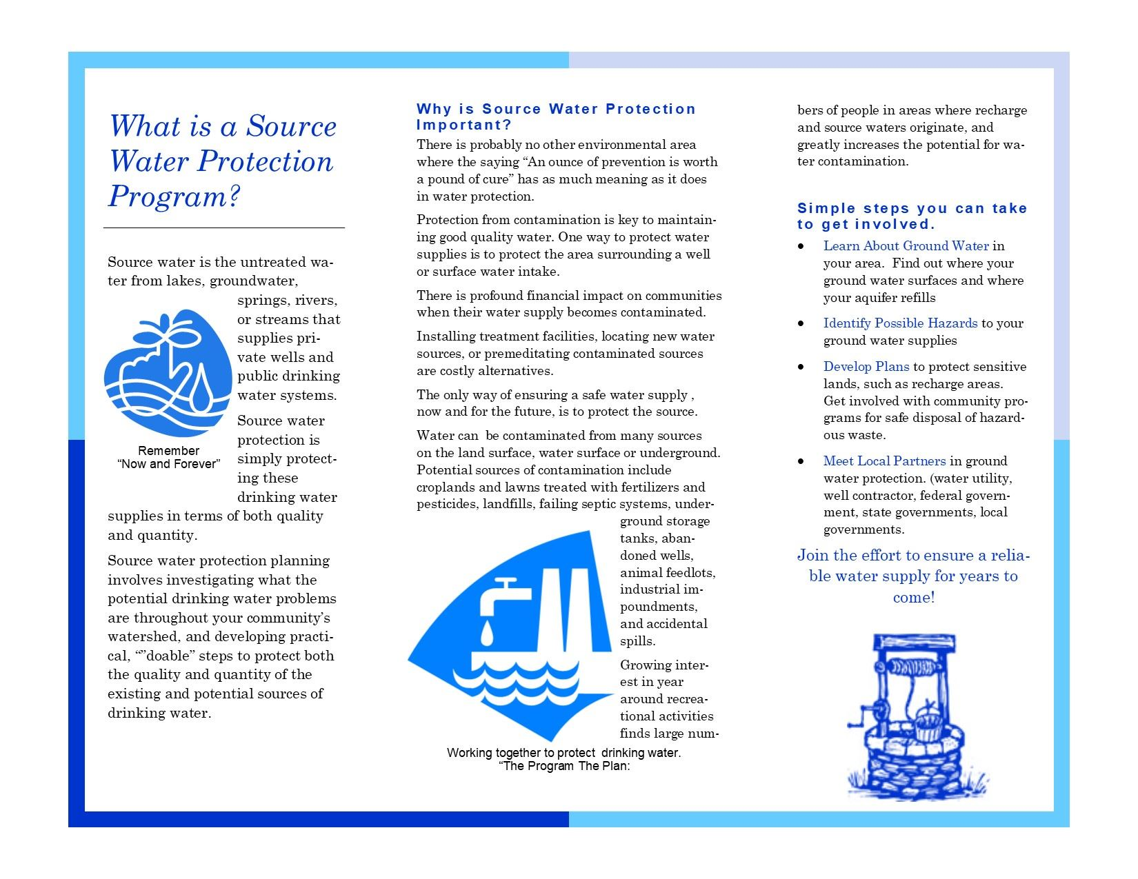 Source Water Protection Brochure Side 2