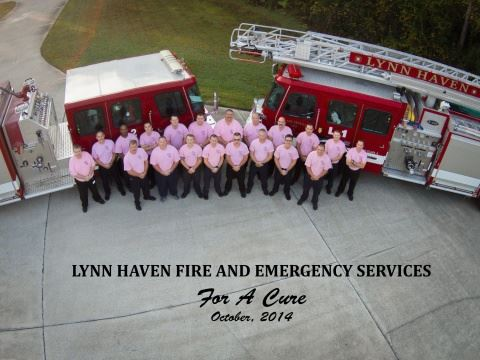 Lynn Haven Fire And Emergency Services For A Cure Group Aerial Picture October 2014
